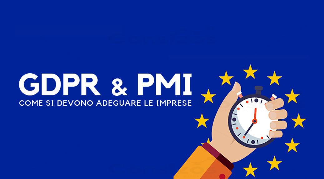 Come applicare il GDPR alle PMI
