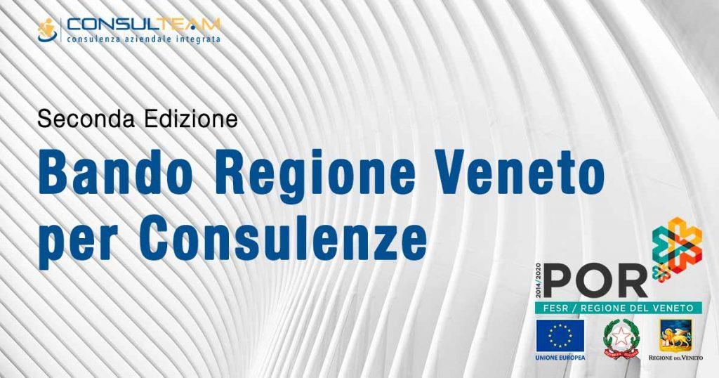 Bando Regione Veneto per Consulenze