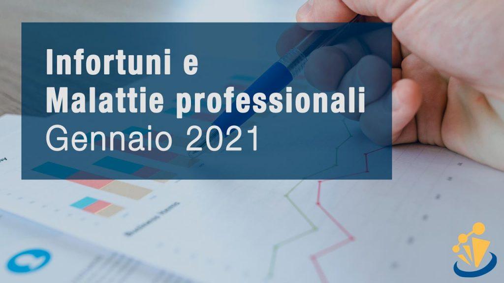 Infortuni e Malattie professionali - Gennaio 2021