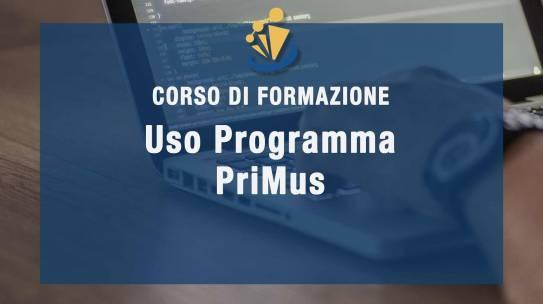 Formazione uso programma PriMus