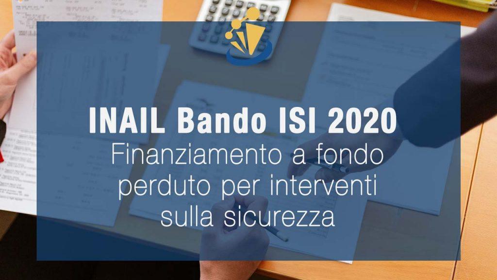 INAIL Finanziamento a Fondo Perduto per Interventi sulla Sicurezza