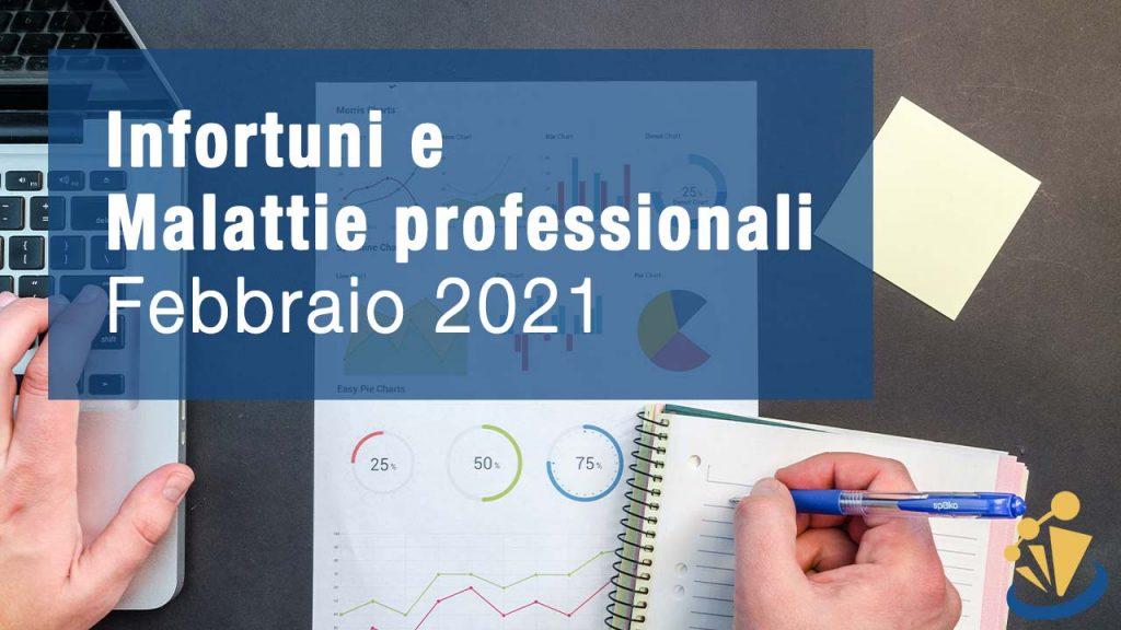 Infortuni e Malattie professionali - Febbraio 2021